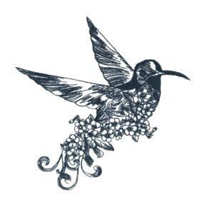 Kolibri Stickdatei - StickZebra