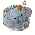 """Elefant """"Moritz"""" - StickZebra"""