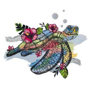 Schildkröte - StickZebra
