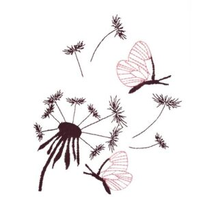 Pusteblumen - StickZebra