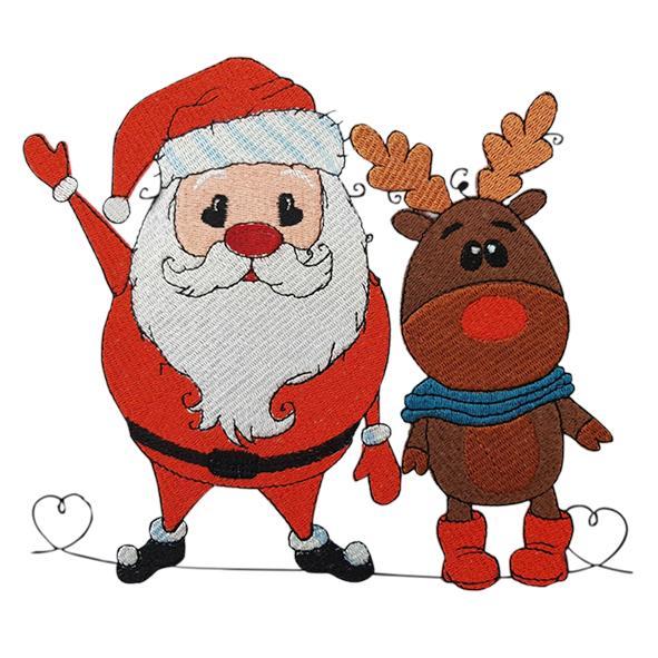 Weihnachtsmann - StickZebra