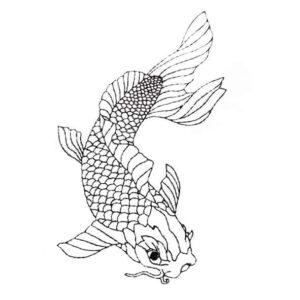 """Fisch """"Oskar"""" - StickZebra"""