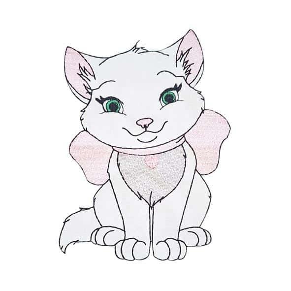 Kätzchen Milli - StickZebra