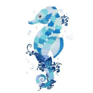 Seepferdchen - StickZebra