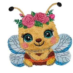 Honigbiene Stickdatei - StickZebra