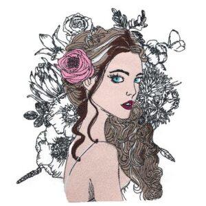 "Madmoiselle ""Rose"" - StickZebra"
