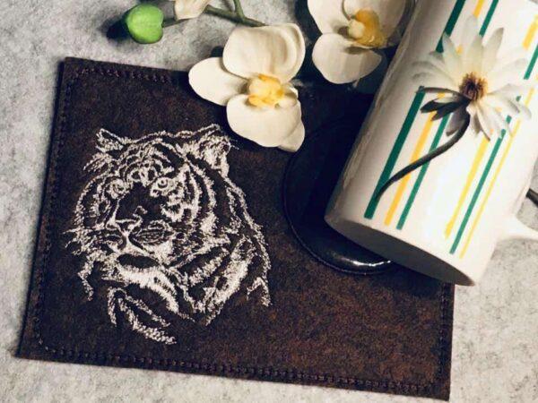 Adventskalender Tag 11 -TIGER- - StickZebra