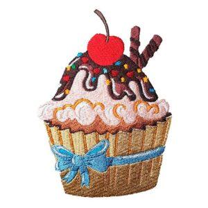 "Cupcake ""Süße Versuchung"" - StickZebra"