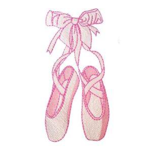 Balletschuhe - StickZebra