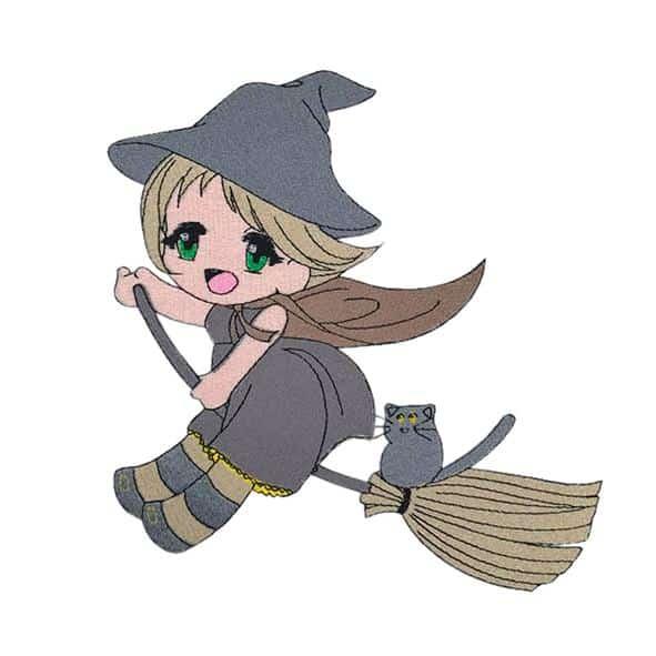 Halloweenhexe - StickZebra