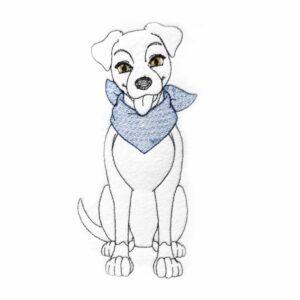 """Hund """"Timmy"""" - StickZebra"""