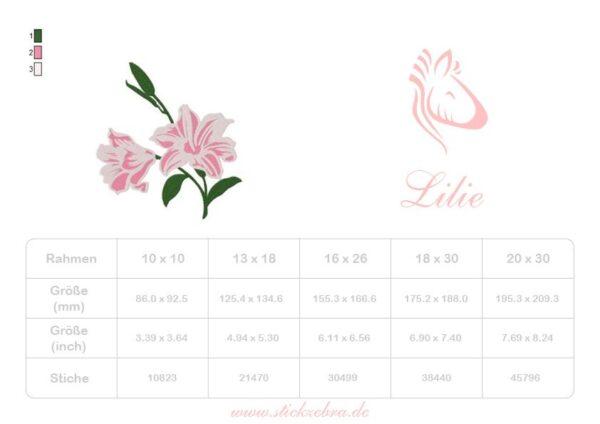 Lilie - StickZebra