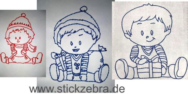 Redwork Kids - StickZebra