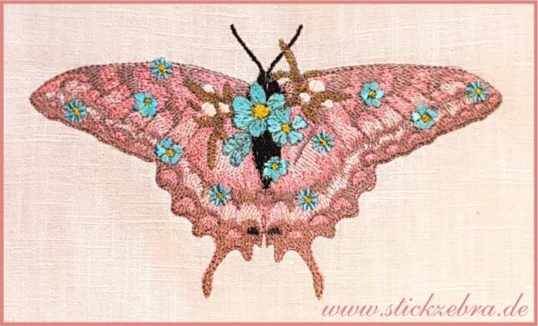 Blütenschmetterling - StickZebra
