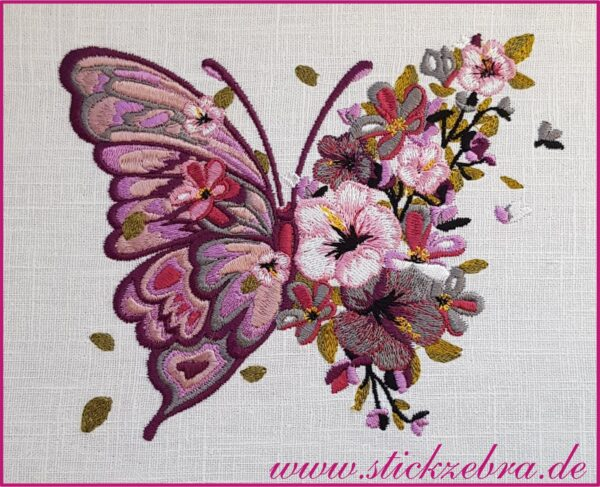 Schmetterling - StickZebra
