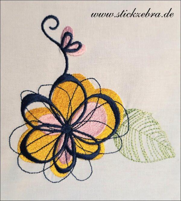 Blumen Set - StickZebra