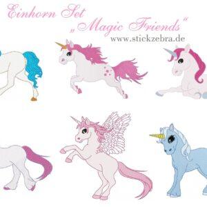 "Einhorn Set ""Magic Friends"" - StickZebra"