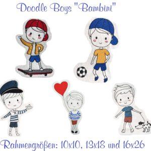 "Doodle Jungs Set ""Bambini"" - StickZebra"