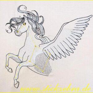 """Sternbild """"Pegasus"""" - StickZebra"""