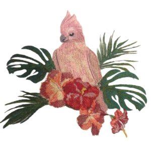 Kakadu Stickdatei - StickZebra