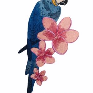 Papagei Stickdatei - StickZebra