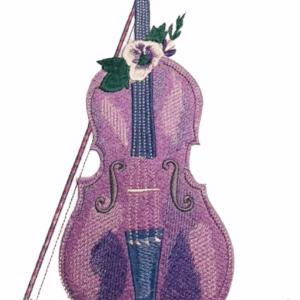 Geige Stickdatei - StickZebra