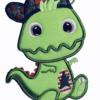 Dino Applikation Stickdatei - StickZebra