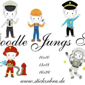 Doodle Jungs Set - StickZebra