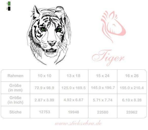 Adventskalender Tag 20 -TIGER- - StickZebra